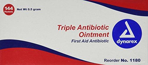 Pretrada Dynarex 1180 Triple Antibiotic Ointment, 144 Count