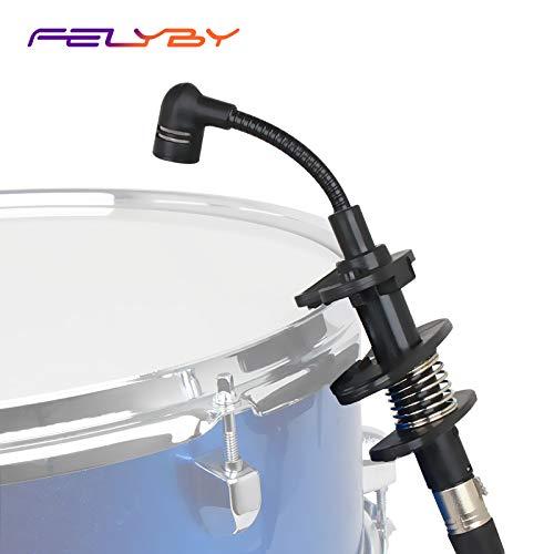 - FELYBY Mic Holders Distribution Hi-Hat Mic Mount IM600 Condenser Microphone for Drum Saxophone Wind Instrument Trombone Tuba