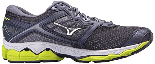 really sale online Mizuno Men's Wave Sky Running Shoe Gray Stone - Silver big sale outlet online SwRgRb
