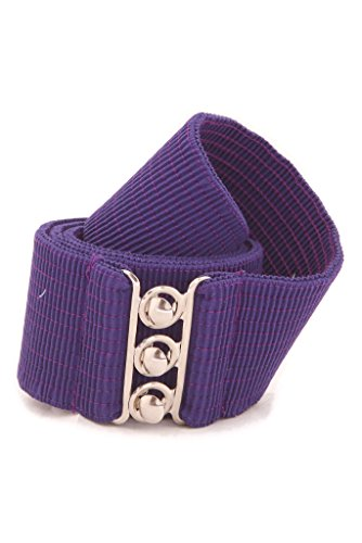 - Malco Modes Wide Elastic Cinch Thick Waist Belt Stretch Belt for Women, Child to Plus Sizes