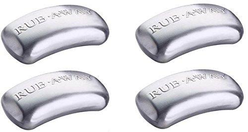 Amco Rub Away Bar, 4-Pack