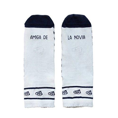 UO Calcetines Amiga de la Novia - Boda - Despedida de soltera: Amazon.es: Ropa y accesorios