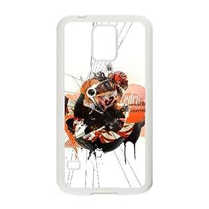 Cincinnati Bengals Samsung Galaxy S5 Cell Phone Case White 218y3-120393