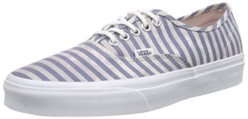 Vans Authentic Scarpe da Ginnastica Basse, Unisex Adulto Multicolore (Stripes/Navy)