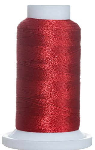 5M-2295 BFC Poly Machine Embroidery Thread, 40 Wt, 5000m, Cherry Red