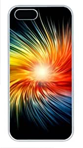 Dazzling colors Personalized custom iphone 5S cases PC White for Apple iPhone 5/5S