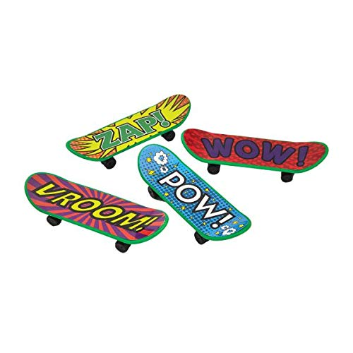 Finger Skateboards Pack of 4