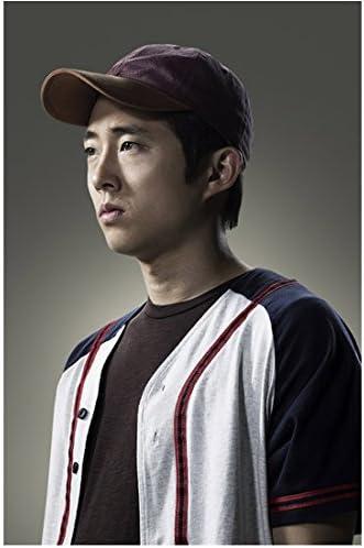 The Walking Dead Glenn Rhee baseball shirt & hat 8 x 10 Inch Photo 41Zv2BqPrH3L
