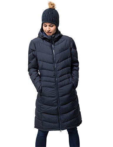Jack Wolfskin Women's Selenium Coat, Midnight Blue, X-Large -