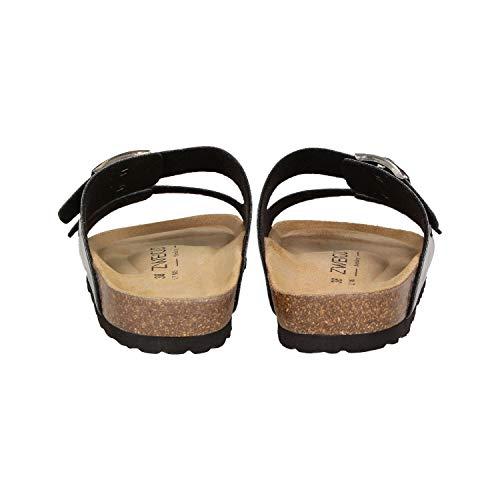 métallisé Zweigut Sandales pour argent femmes talons 550 en Luftig à 0rq7Rw0x