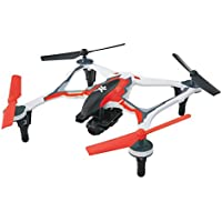 Dromida XL First Person View Ready-to-Fly 370mm Radio Control Drone with 1080p HD Camera (Red)