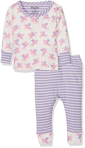 Hatley Baby Girls' Organic Cotton Long Sleeve Mini