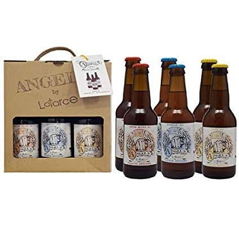 Cervezas Artesanas Latarce   Pack Cartón Mix 6 Cervezas Angels By Latarce   Cervezas Artesanas   Cerveza Artesana: Amazon.es: Alimentación y bebidas