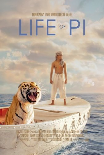 Life Of Pi Poster 11X17 Mini Poster by Unknown