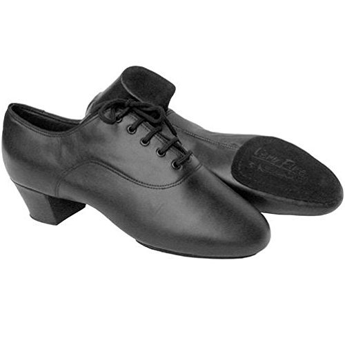 Competition Black Leather Shoes - 4