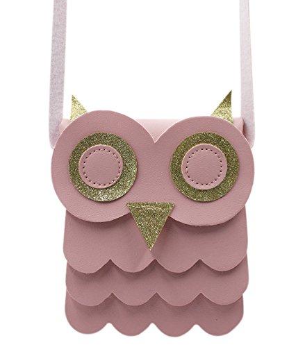 The Friendly Owl Key Bag (Pink) - 2