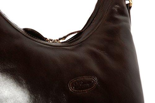 Marron foncé Grand sac à main portéépaule en stock Sac à dos de la marque Ashwood