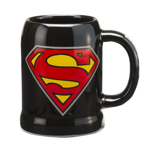 Superman Ceramic 20-Ounce Stein