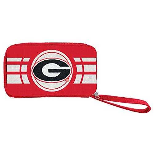 NCAA Georgia Bulldogs Ripple Zip Wallet