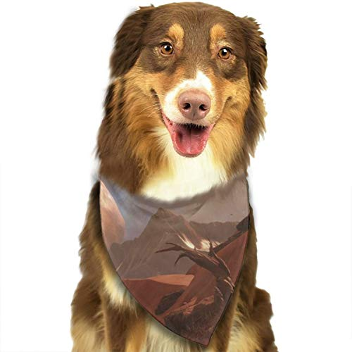 Pet Scarf Dog Bandana Bibs Triangle Head Scarfs Destiny Desert Accessories for Cats Baby Puppy