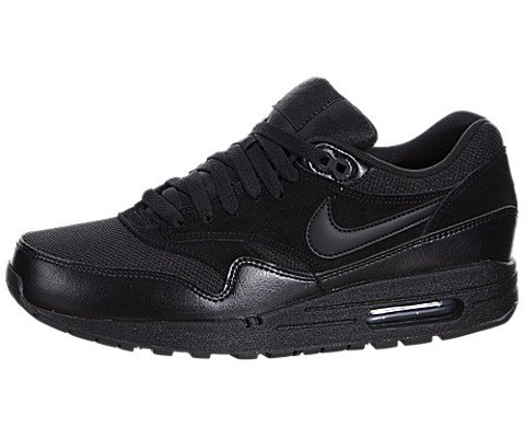Nike Men's Air Max 1 Essential Black/Black Running Shoe 9...