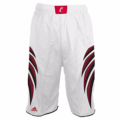 - adidas Cincinnati Bearcats NCAA White Official Home Replica Basketball Shorts for Boys (5/6)