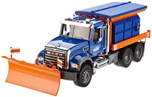 Amazon Com Bruder Toys Mack Granite Winter Service With