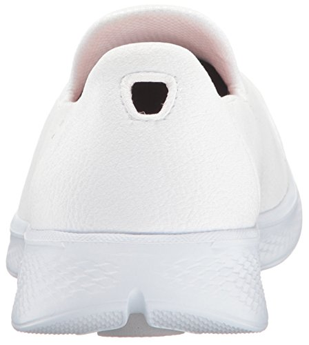 Skechers Go Walk 4 Inspire, Baskets Basses Femme White