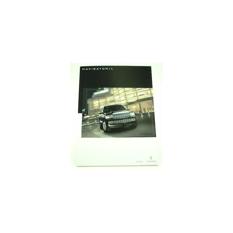 2009 09 Lincoln NAVIGATOR / L SUV Truck BROCHURE