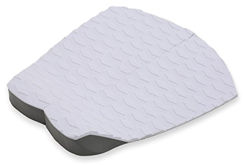 Punt Surf Surf Traction Pad - 2 Piece Stomp Pad for Surfboards & Skimboards - Pro II Model Superlite EVA & Industry Leading 3M Adhesive (White)