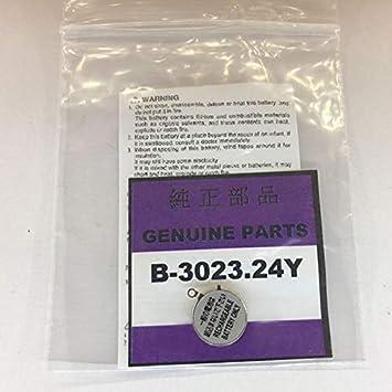 3023 - 24Y MT920 3023 24Y 3023.24y reloj partes/reloj solar/batería baterías: Amazon.es: Electrónica