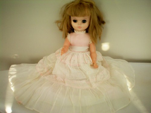 """Effanbee VINTAGE 17"""" 1965 Doll #1700 as shown"""
