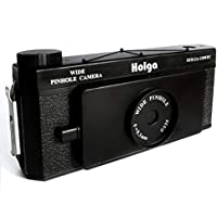 Holga 120 WPC Panoramic Pin Hole Wide Format Film Lomo Camera (Black)