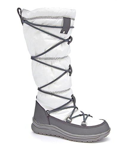 Arctique Plunge Femmes Kezry Boot Hiver Blanc
