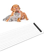 Arvnka Pet Training Mat for Cats and Dogs Indoor 47 X 16 inch -Electronic Repellent Pet Shock Mat Protect Your Furniture Sofa and Couch, 4 Adjustable Training Modes with LED Indicator