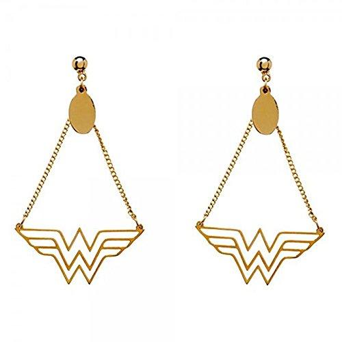 Comics Wonder Woman Dangle Earrings