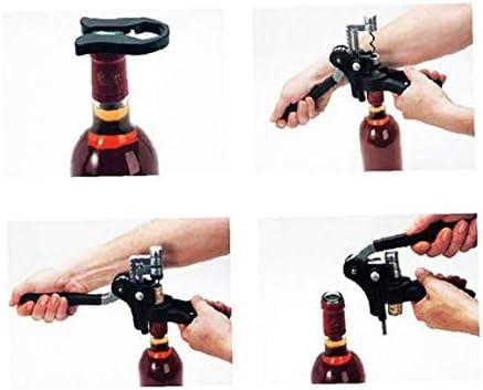 BYFRI Abrelatas De Botella Conejo Estilo De La Botella De Vino Abridor Herramienta Creativa Sacacorchos Abrelatas del Corcho