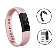 Fitness Tracker,Luluking Smart watch with Sleep Monitor, Bluetooth Smart Wristband Bracelet Sport Pedometer Activity Tracker with Alarm/Step Tracker/Calorie Counter/Sleep for Android and ios