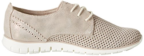 Marco Tozzi Premio 23728, Zapatillas para Mujer, Beige (Dune Metallic), 37 EU