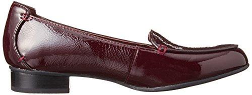Clarks Keesha Luca - Zapatos de cordones de Piel para mujer Rojo rojo Rojo - rojo