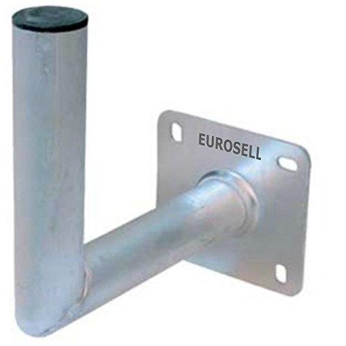 Eurosell Sat Halter halterungen für Satelittenschüssel Schüssel Spiegel (Wandhalter 250 - 50 mm)