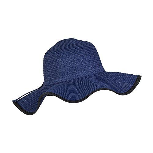 bohemian-braided-ribbon-straw-sun-hat-large-wavy-brim-beach-hat-packable-upf-50-navy-black