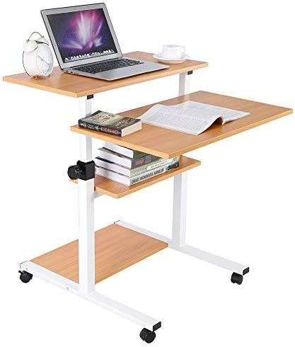 zerone Escritorio para Ordenador Ajustable, Oficina Informática ...