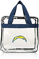 Los Angeles Chargers Clear Messenger Bag...