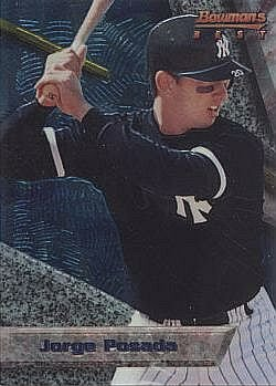 1994 Bowman's Best Baseball #29 Jorge Posada Rookie Card