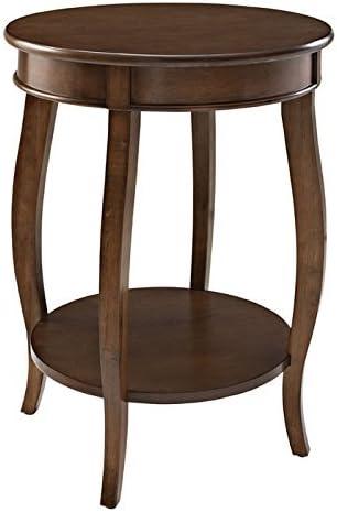 Powell Furniture Powell Hazelnut Round Shelf Table,