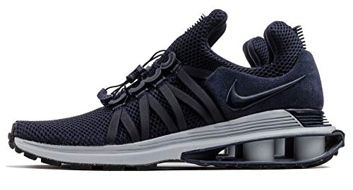 huge discount 40956 adcaf NIKE Men s Shox Gravity Obsidian Midnight Navy Wolf Grey Synthetic Running  Shoes 11.5 (