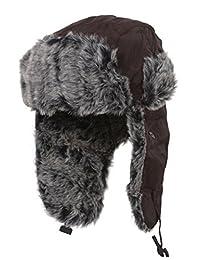 New York Style Trooper Faux Fur Trooper Hat