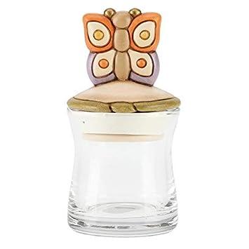 THUN® - Barattolo Piccolo e Coperchio Decorato con Farfalla Colorata ...
