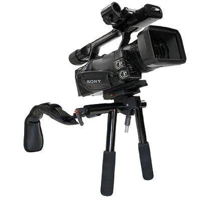 Image of Background Support Equipment VariZoom VZ-DVTraveler Compact Shock-Absorbing Support for DV Cameras